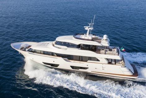Luxury Navetta 28 Luxury Yacht by Custom Line
