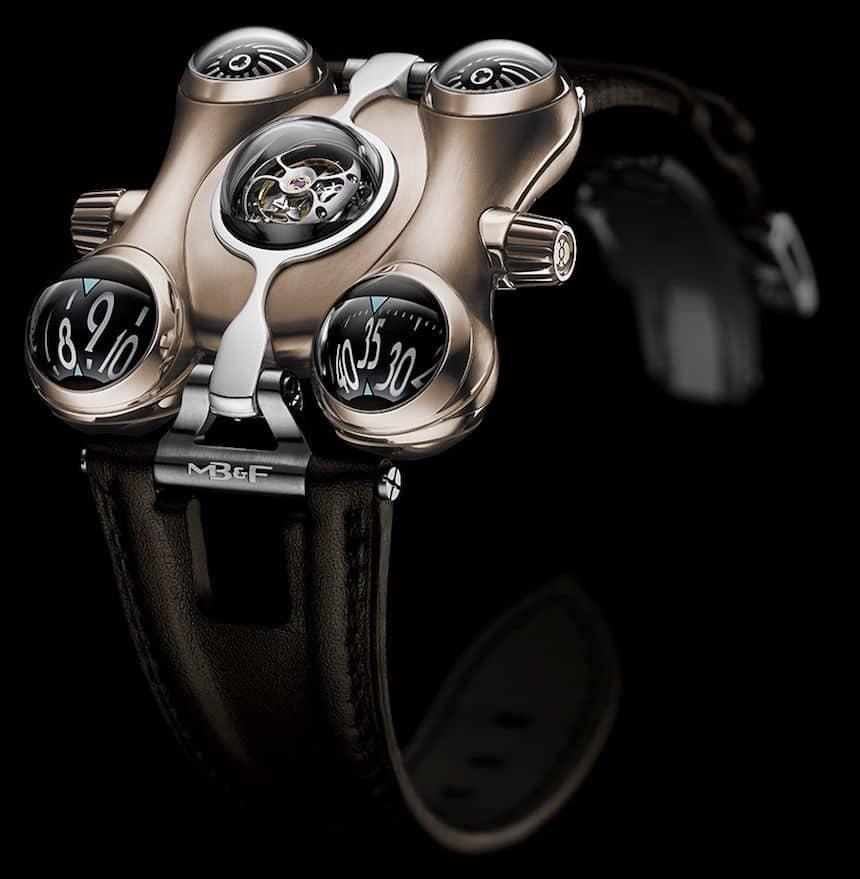 MB&F HM6 Space Pirate Titanium Watch