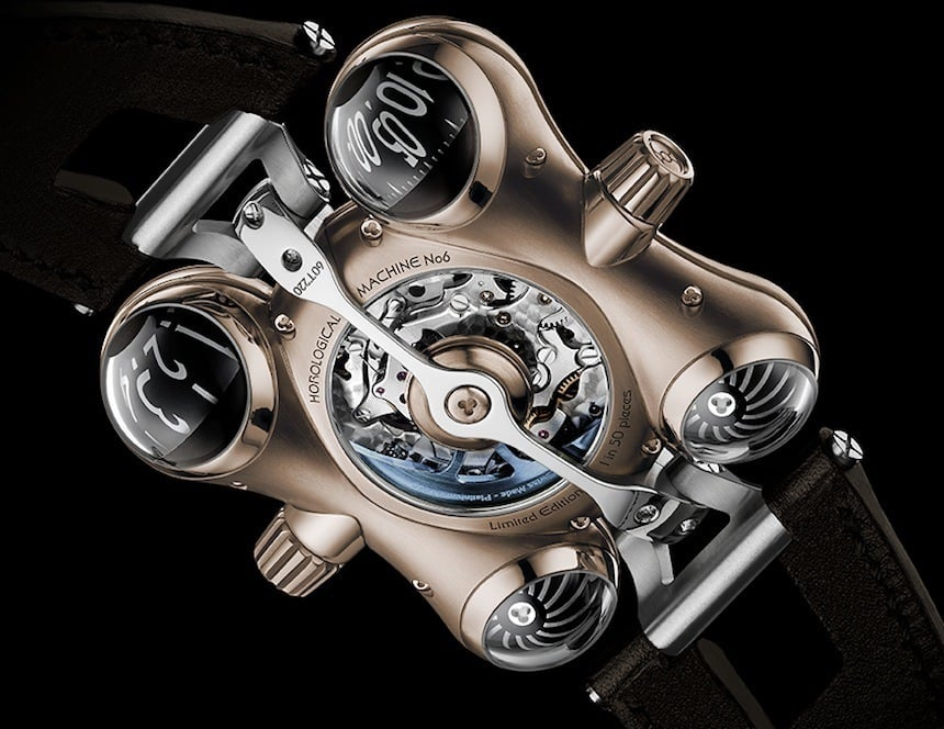 MB&F HM6 Space Pirate Watch Case Back