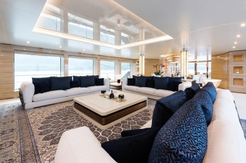 Majestic Irimari Superyacht Interior Design