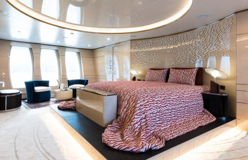 Majestic Irimari Superyacht Master Suite