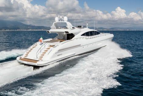 Mangusta 132 Private Yacht