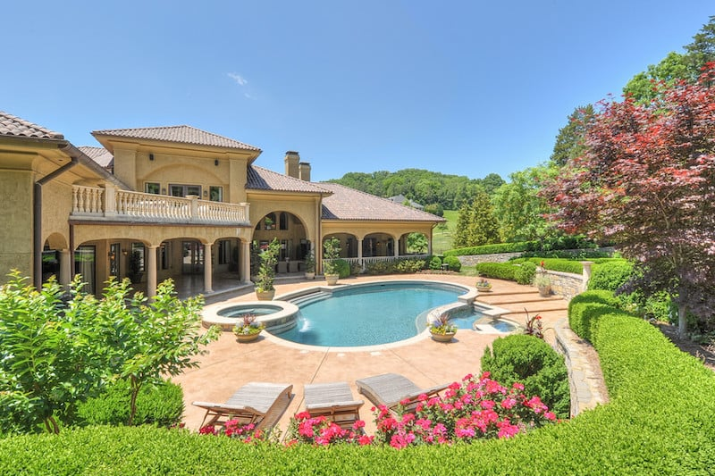 Mediterranean Villa Pool
