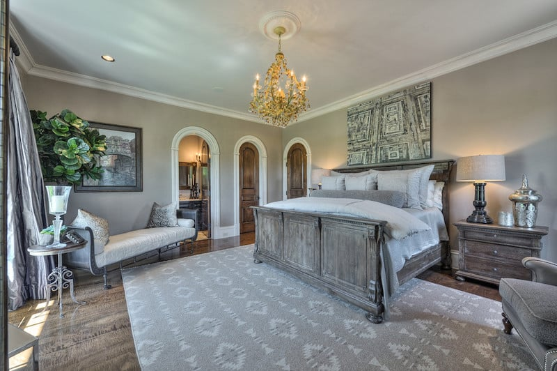 Mediterranean Villa in Nashville Bedroom