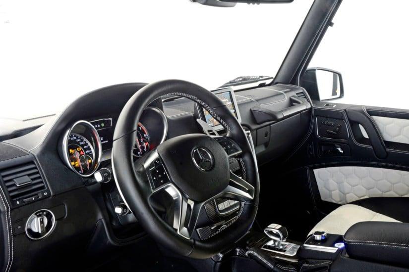 Mercedes-Benz Brabus G63 – 700 Widestar Dashboard