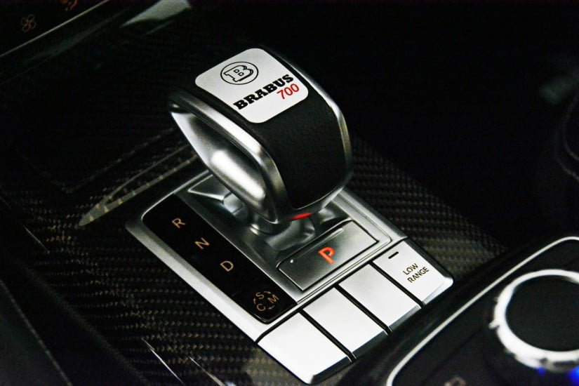 Mercedes-Benz Brabus G63 – 700 Widestar Gearbox