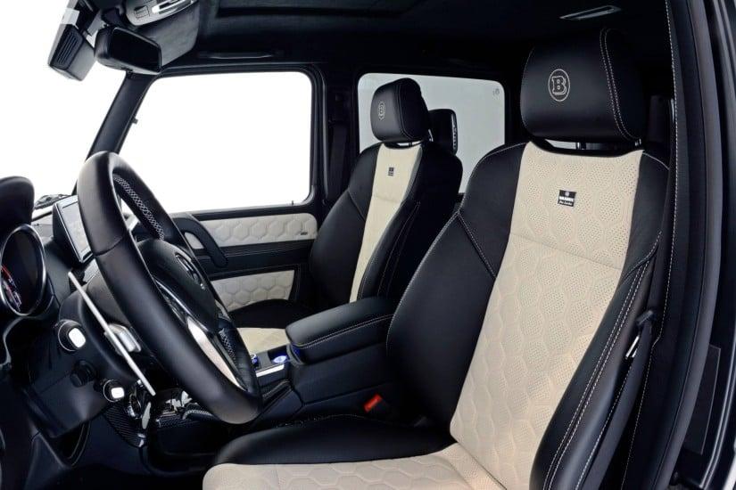 Mercedes-Benz Brabus G63 – 700 Widestar Interior