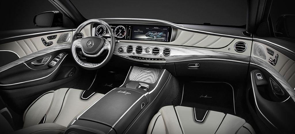 Mercedes-Benz S-Class XXL Black Dashboard