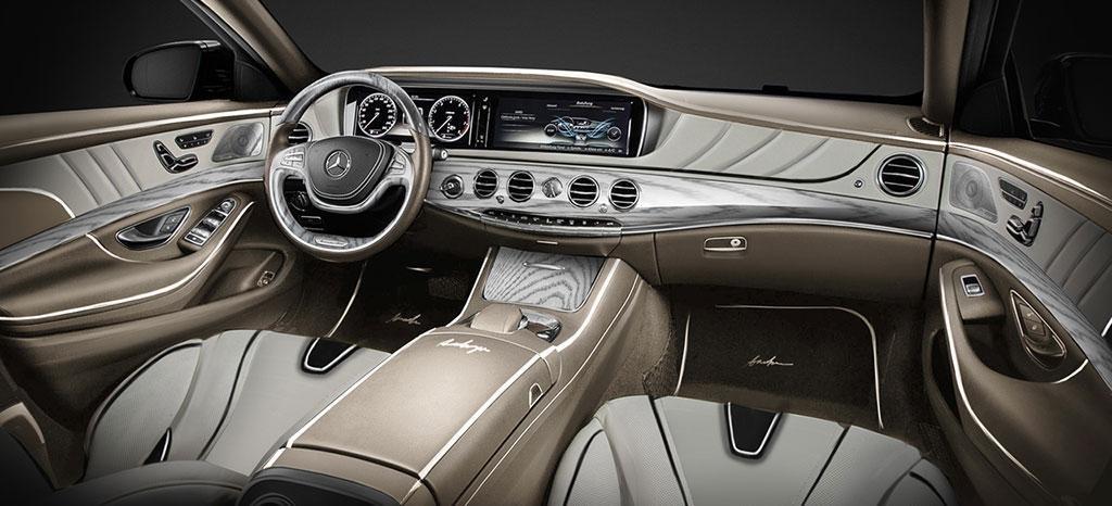 Mercedes-Benz S-Class XXL Dashboard