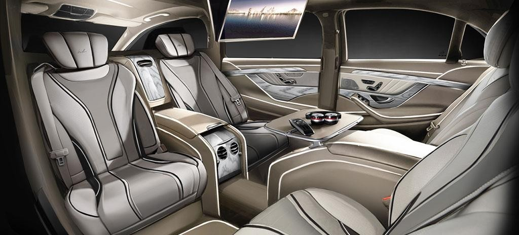 Mercedes-Benz S-Class XXL Nappa Leather