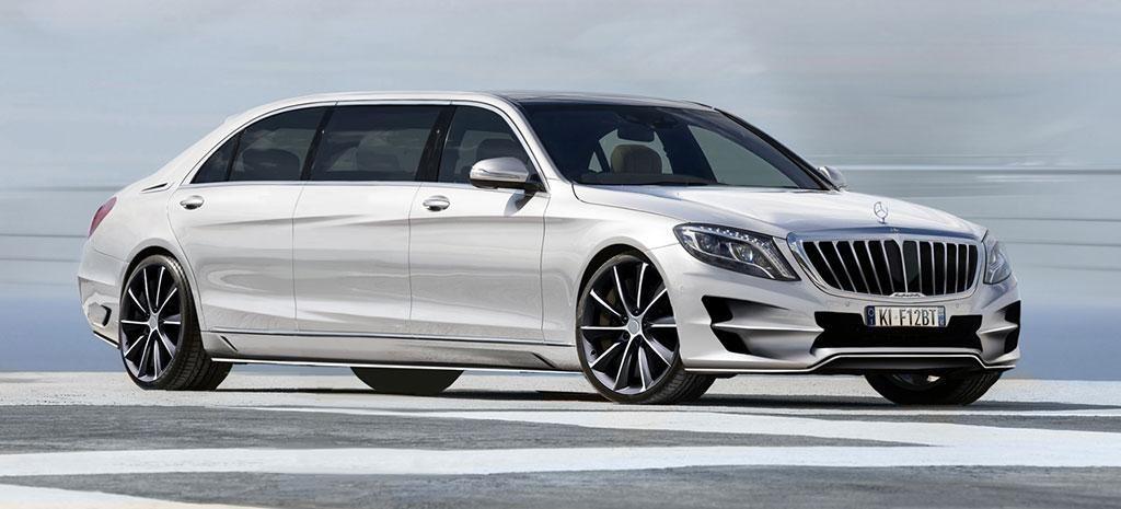Mercedes-Benz S-Class XXL White Version