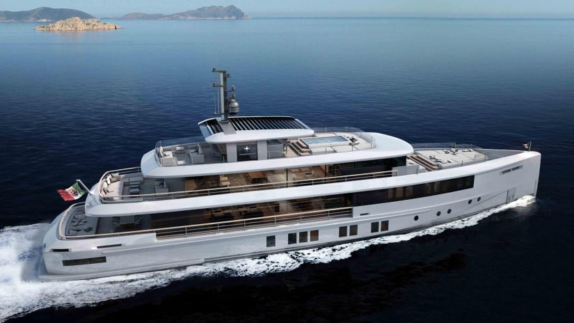 Momentum Yachts by Admiral Yachts Side View
