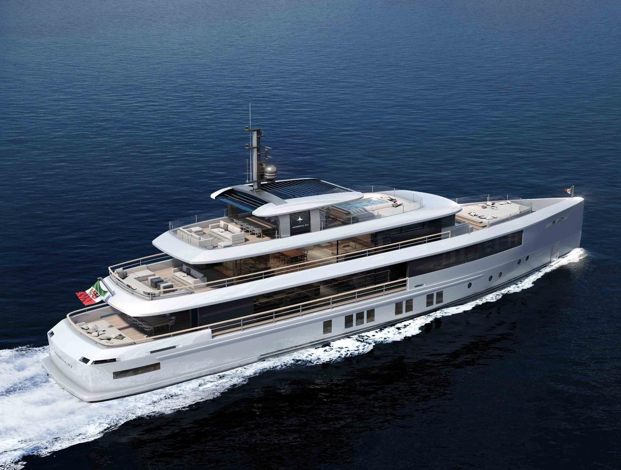 Momentum Yachts by Admiral Yachts Top View