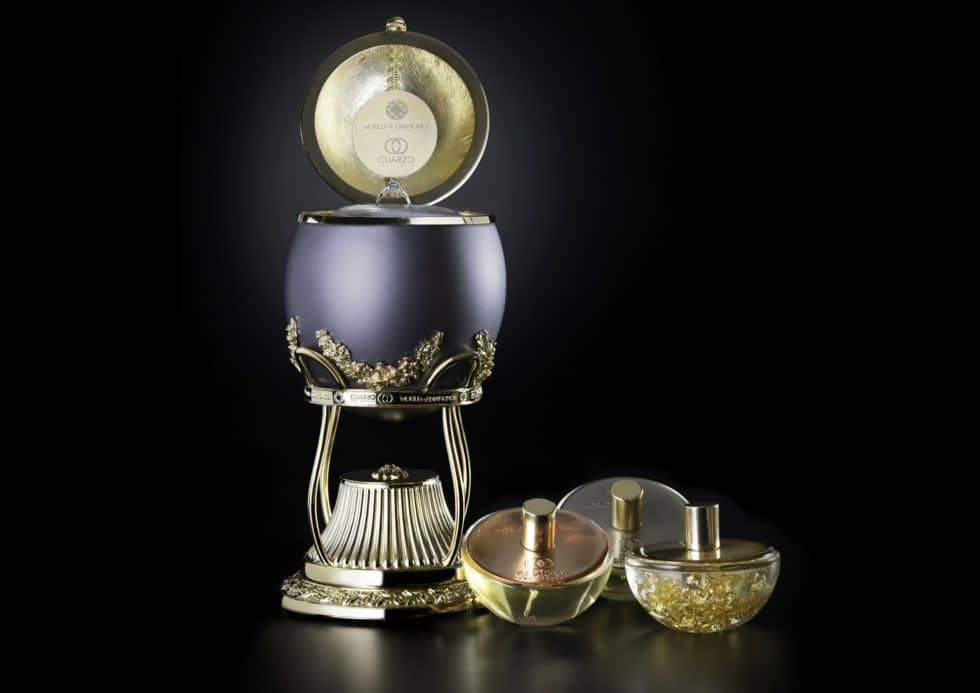 Most Expensive Perfume Collection, Diamond Ring