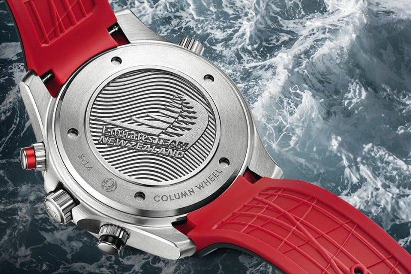 Omega Seamaster Diver 300M ETNZ Watch Back Case