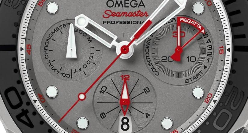 Omega Seamaster Diver 300M ETNZ Watch Dial