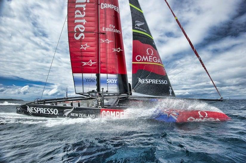 Omega Seamaster Diver 300M ETNZ Watch Sailing Team