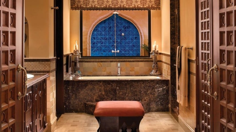 One&Only Royal Mirage Luxury Resort Bathroom