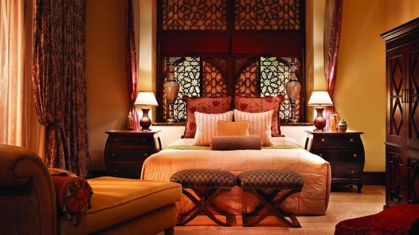One&Only Royal Mirage Luxury Resort Bedroom