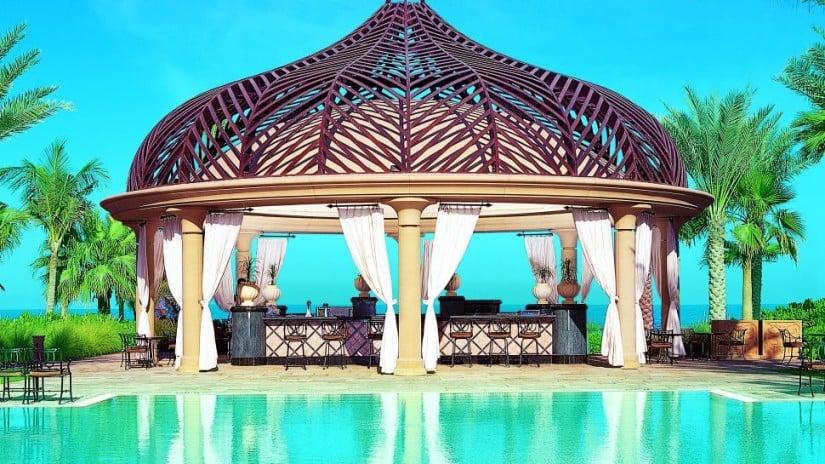 One&Only Royal Mirage Luxury Resort Pool Bar