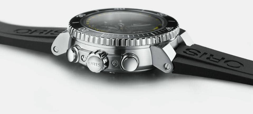 Oris Aquis Depth Gauge Chronograph Case