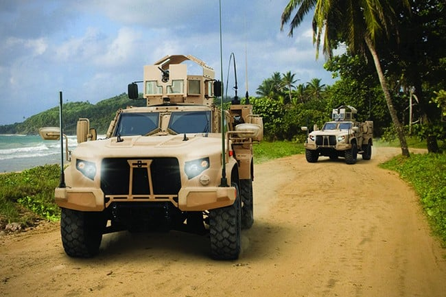 Oshkosh Defense Joint Light Tactical Vehicle 10