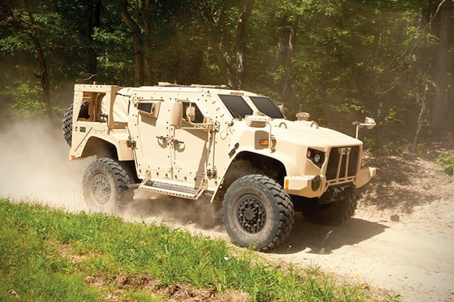 Oshkosh Defense Joint Light Tactical Vehicle 13