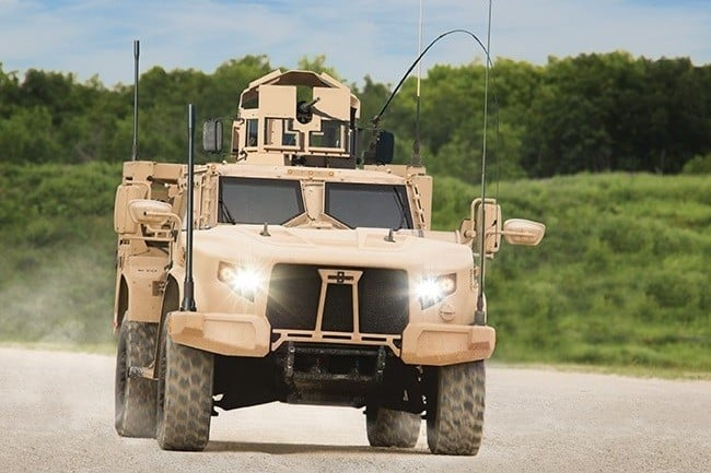 Oshkosh Defense Joint Light Tactical Vehicle 2