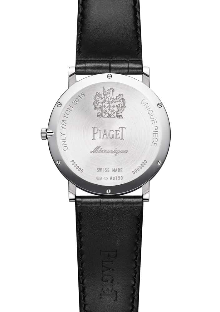 Piaget Altiplano 900P Back Case