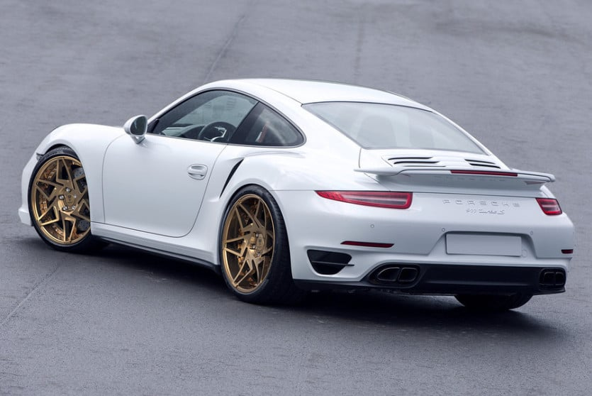 Porsche 911 Turbo S Back View