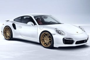 Porsche 911 Turbo S Front View