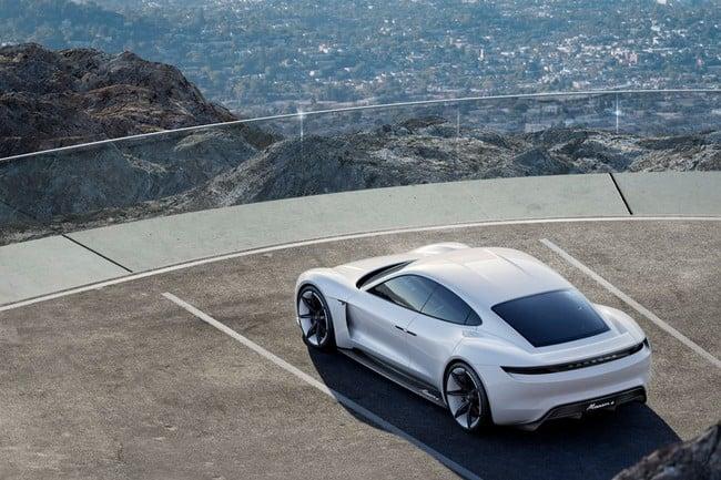 Porsche Mission E Concept 4