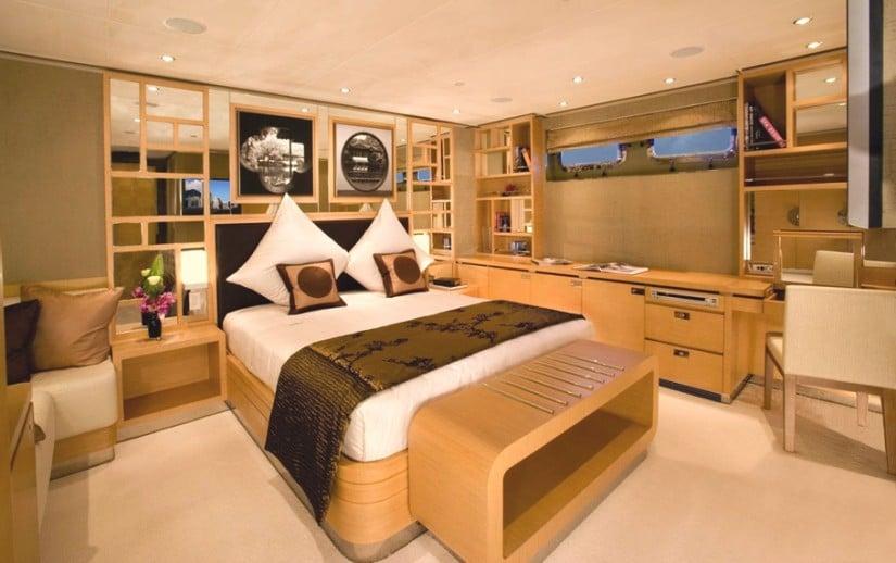 Quing (ex Mazu) Superyacht by Cheoy Lee Room