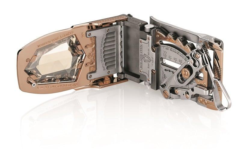 R60 Diablo Belt Buckle Open Back
