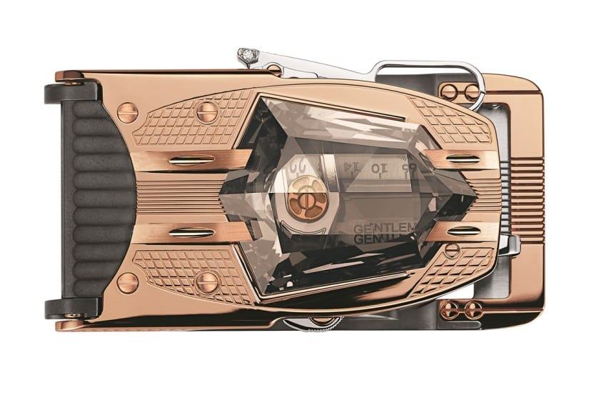 R60 Diablo Belt Buckle Top