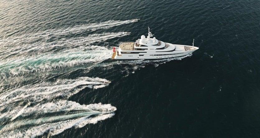 RV Pegaso Luxury Yacht