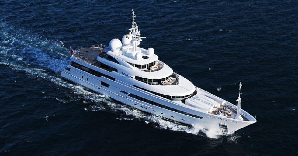 RV Pegaso Superyacht