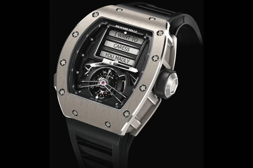 Richard Mille RM 69 Erotic Tourbillon Watch