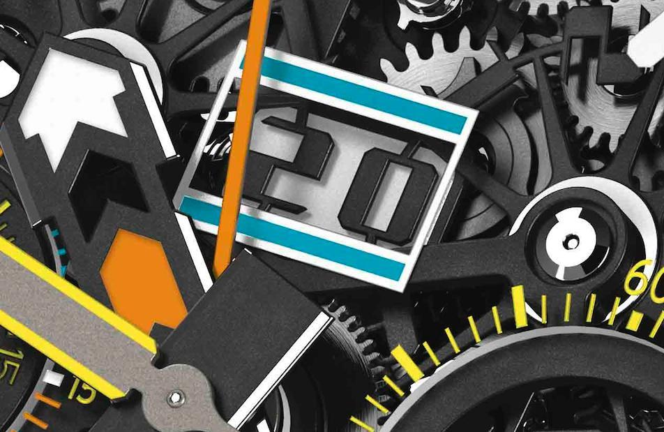 Richard Mille RM60-01 Regatta Les Voiles de Saint Barth Date Wheel