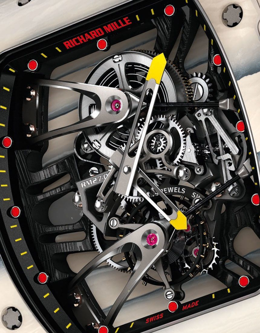 Richard Mille Tourbillon RM 27-02 Watch Dial