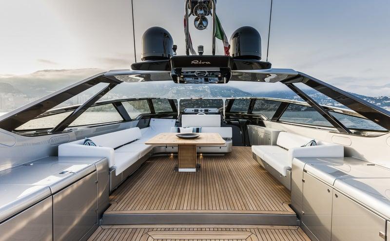 Riva 88' Florida Yacht Exterior