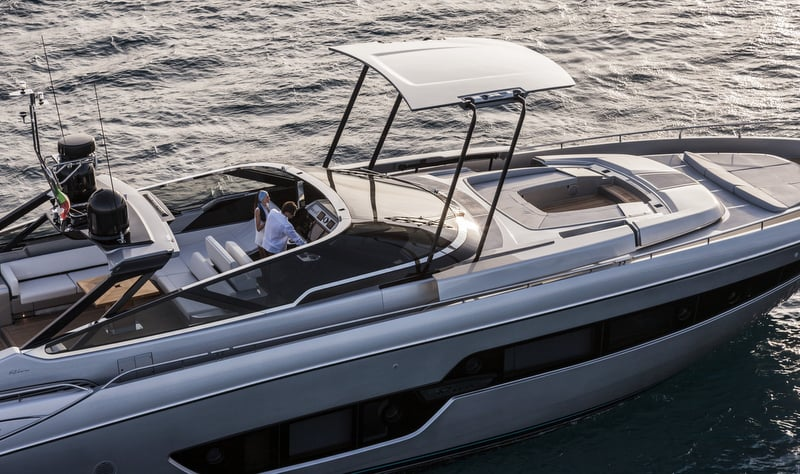Riva 88' Florida Yacht Side View