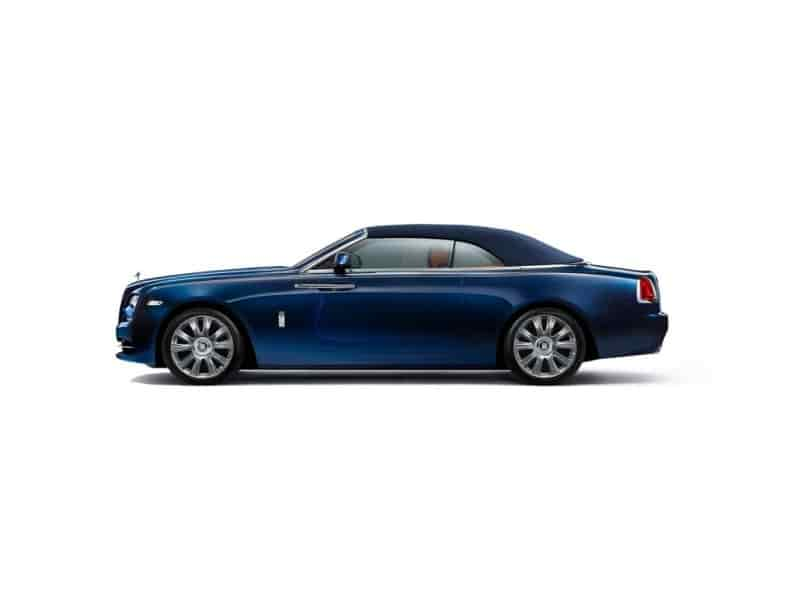 Rolls Royce Dawn Coupe Side View