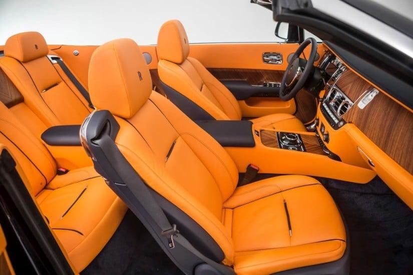 Rolls-Royce Dawn Interior Front Seats