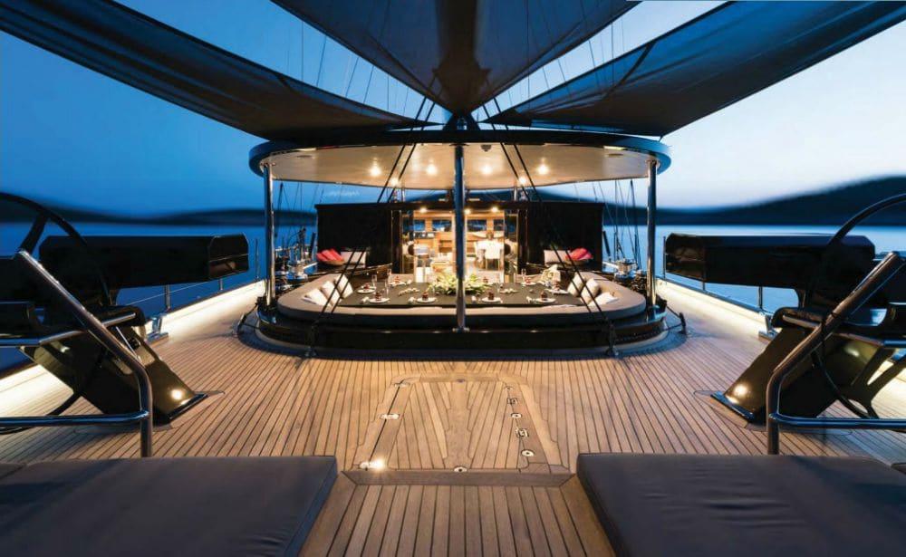 Rox Star Sailing Yacht Deck