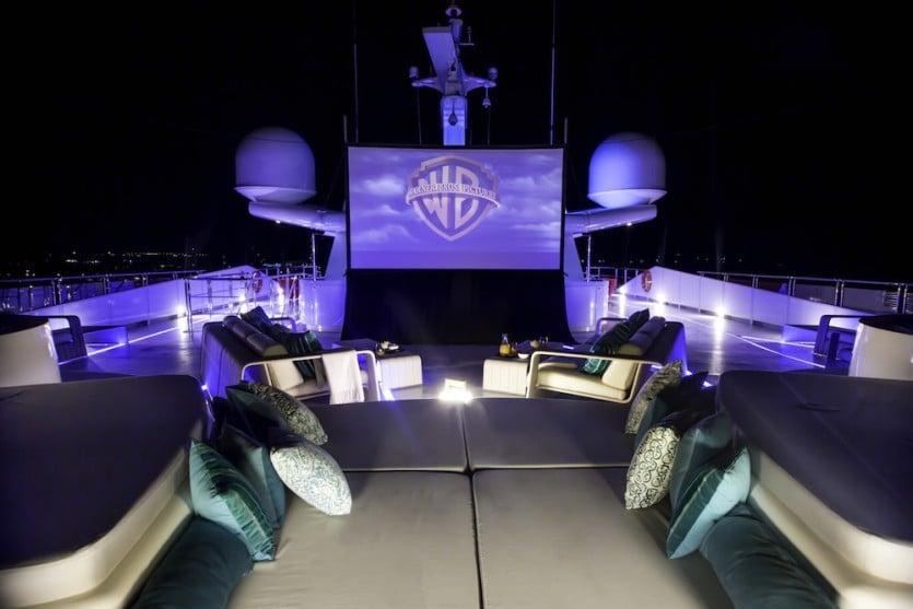 Saluzi Motor Yacht Cinema