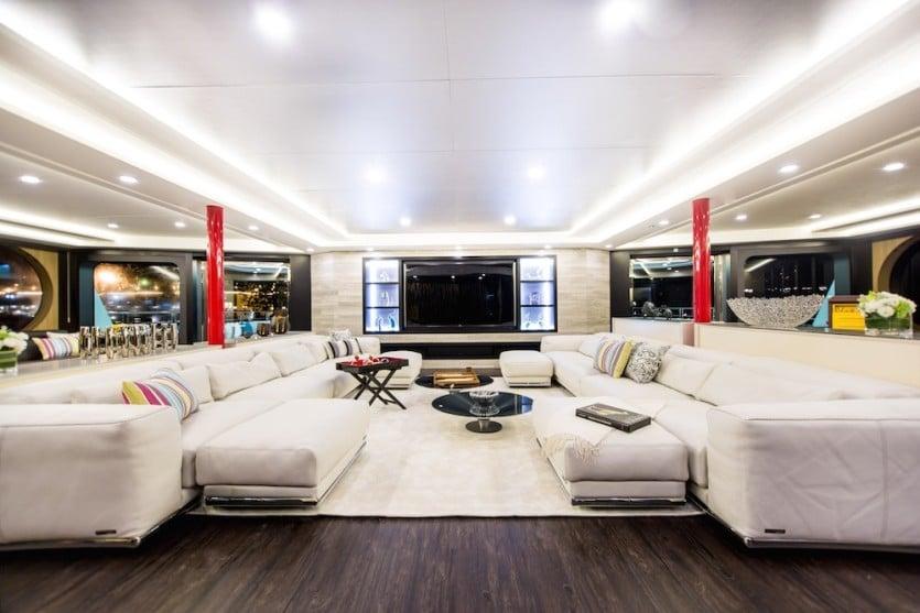 Saluzi Motor Yacht Large Salon