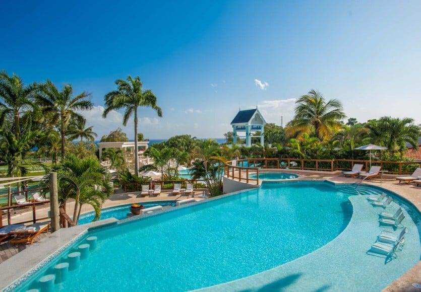 Sandals Ochi Beach Resort Pool Area 4