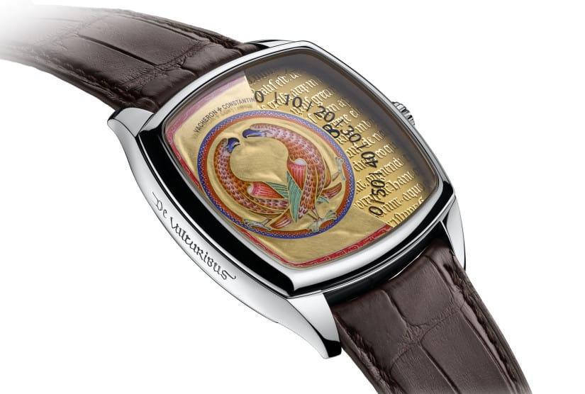 Savoir Enluminés Swiss watch