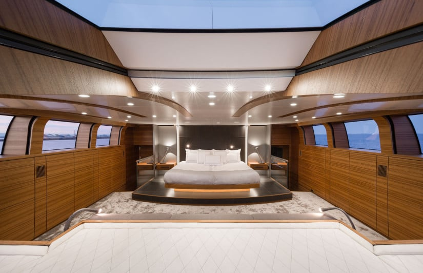 Silver Fast Superyacht Luxury Cabin